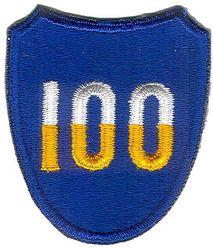 100th INFANTRY DIVISION (ORIGINAL)