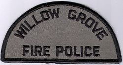 Willow Grove Fire Police Patch (PA)