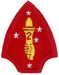 2nd MARINE DIVISION FELT (PATCH KING)