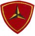 3rd MARINE DIVISION FELT (PATCH KING)