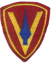 5th MARINE DIVISION FELT (PATCH KING)