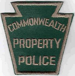 Commonwealth Property Police Patch (green) (PA)