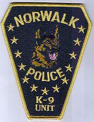Norwalk K-9 Unit Police Patch (CT)
