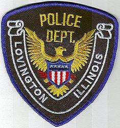 Lovington Police Patch (IL)
