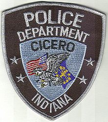 Cicero Police Patch (IN)