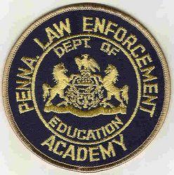 School: PA, Law Enforcement Academy Patch (tan edge)