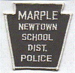 School: PA, Marple Newtown School Dist. Police Patch
