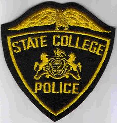 School: PA, State College Police Patch