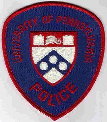 School: PA, Univ. of Pennsylvania Police Patch (shield shape)