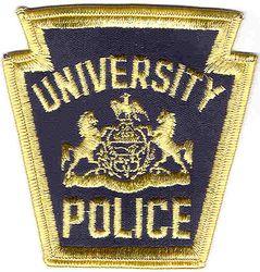 School: PA, Univ. Police Patch (keystone shape)