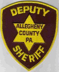 Sheriff: PA, Allegheny Co. Deputy Sheriff Patch (large)