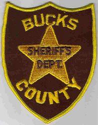 Sheriff: PA, Bucks Co. Sheriffs Dept. Patch