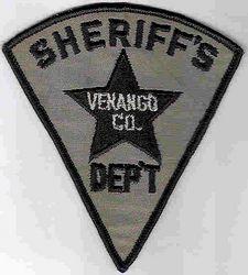 Sheriff: PA, Venango Co. Sheriffs Dept. Patch (triangle)