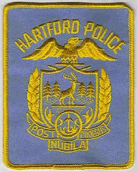 Hartford Police Patch (blue/gold) (CT)