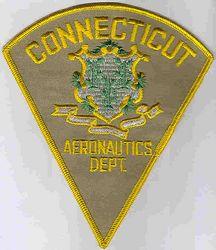 Aeronautics Dept. Patch (tan) (CT)