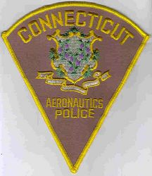 Aeronautics Police Patch (brown) (CT)