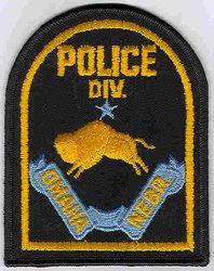 Omaha Police Div. Patch (NE)