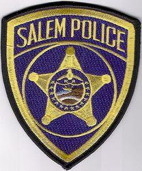 Salem Police Patch (OR)