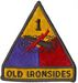 1ST ARMORED DIVISION W/ TAB