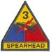 3RD ARMORED DIVISION W/ TAB