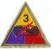 3RD ARMORED DIVISION W/O TAB