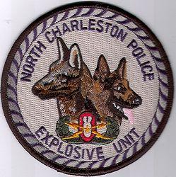 North Charleston Explosive Unit Police Patch (RI)