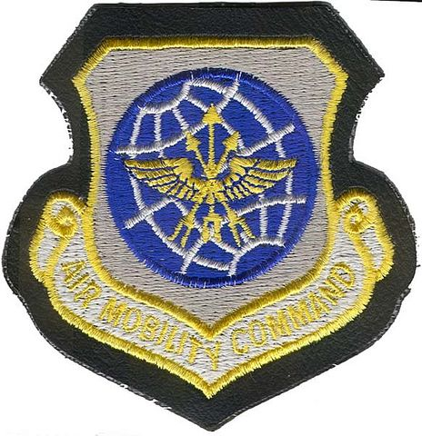 AIR MOBILITY COMMAND JACKET PATCH