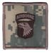 101st INFANTRY DIVISION (ABN) ACU HELMET PATCH