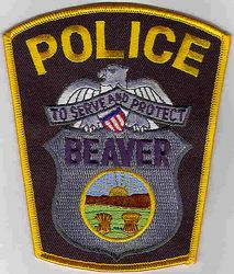 Beaver Police Patch (OH)
