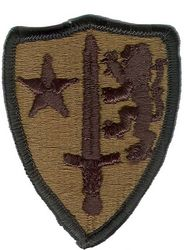 ALLIED ARMY COMMAND EUROPE (SUBDUED)