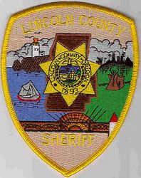 Sheriff: OR. Lincoln Co. Sheriff Patch