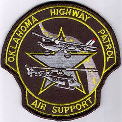 State: OK, Highway Patrol Air Support Patch