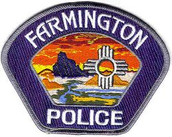 Farmington Police Patch (NM)