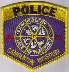 Camdenton Police Patch (MO)