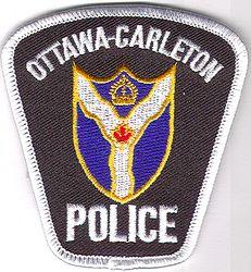 Canada: Ottawa-Carleton Police Patch (small)