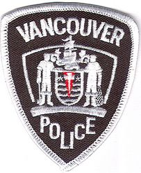 Canada: Vancouver Police Patch (small)