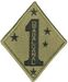 1ST MARINE DIVISION (GUADALCANAL) (SUBDUED)