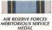 AIR FORCE RESERVE MERITORIOUS SERVICE RIBBON