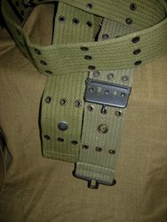 Reproduction Pistol Belt - With Snap