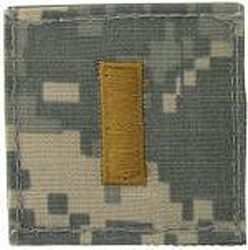 Second Lieutenant (2LT) - Velcro