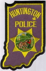 Huntington Police Patch (IN)