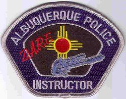 Albuquerque D.A.R.E. Instructor Police Patch (NM)