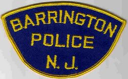 Barrington Police Patch (twill) (NJ)