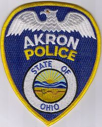 Akron Police Patch (OH)