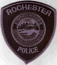Rochester SWAT Police Patch (MA)