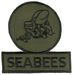 SEEBEE POCKET PATCH (OLIVE- GREEN)