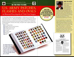 US ARMY PATCHES, FLASHES, AND OVALS BOOK