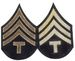 Unissued 1942 Pattern Chevrons - T4 (Technician Fourth Grade)