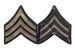 Unissued 1942 Pattern Chevrons - SGT (Sergeant)