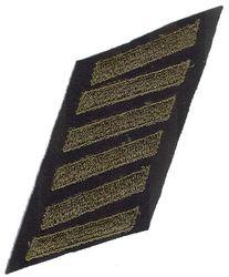 Unissued World War II Service Stripes - Wool